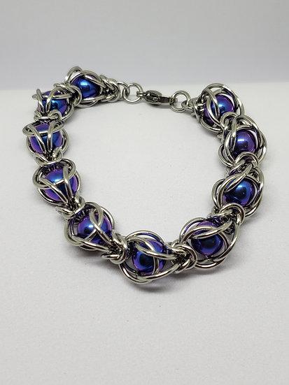 Caged Byz Ball Bracelet