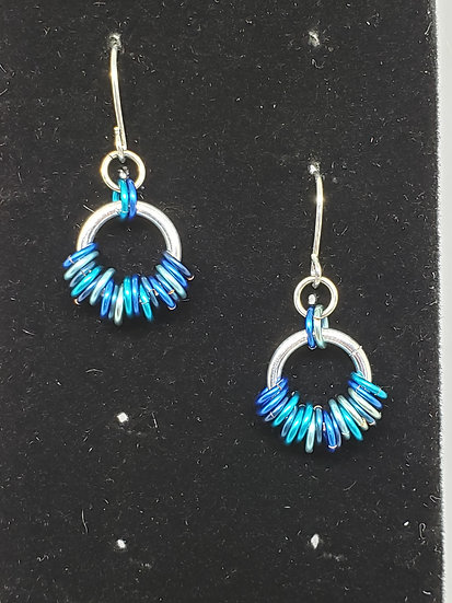 Coiled Wave Earrings