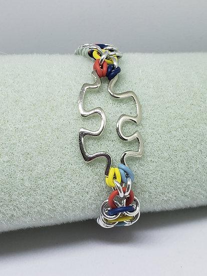 Puzzle Piece Bracelet