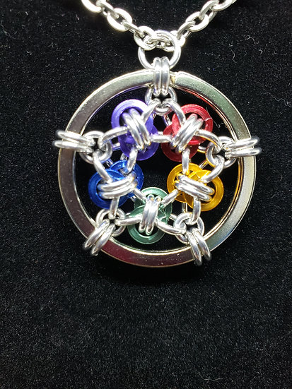 Barrel Star Pendant