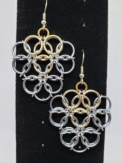 Borealis Shield Earrings