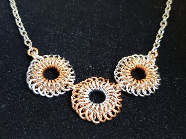 Sunburst Weave Necklace