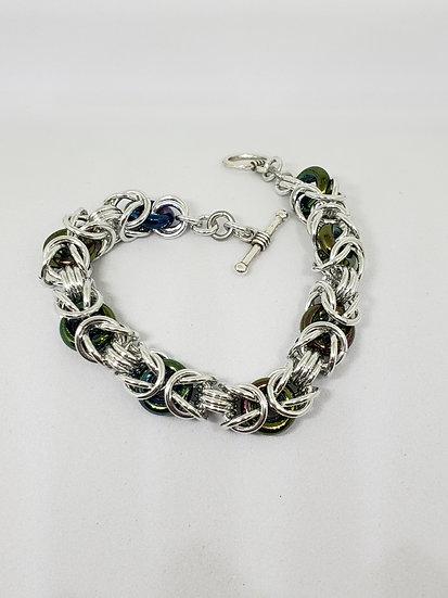 Glass Byzantine Bracelet