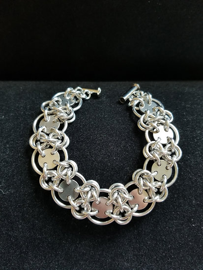 Industrial Lattice Bracelet
