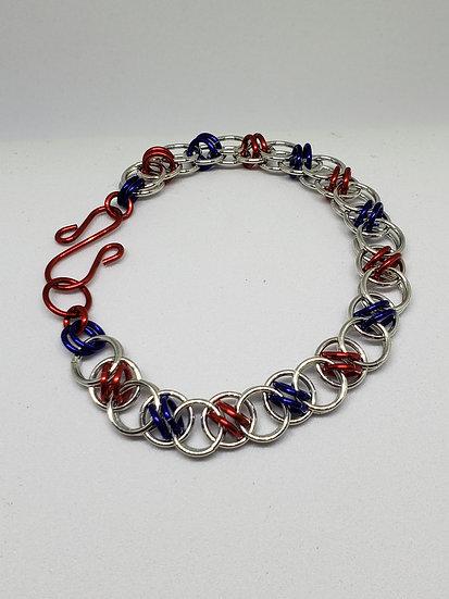 Acute Helm Weave Bracelet