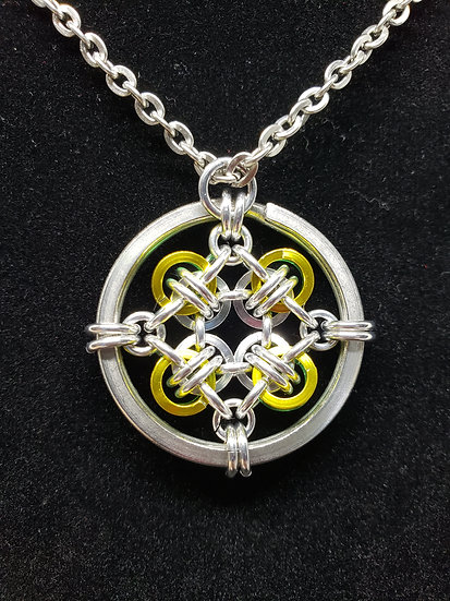 Holding Hands Pendant-Small