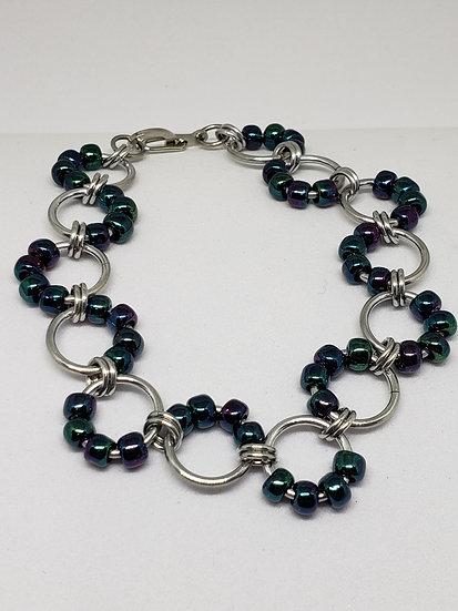 Beaded Wave Bracelet