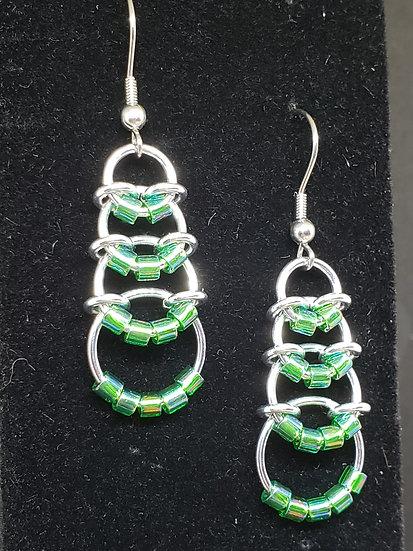 Beaded Loops Earrings