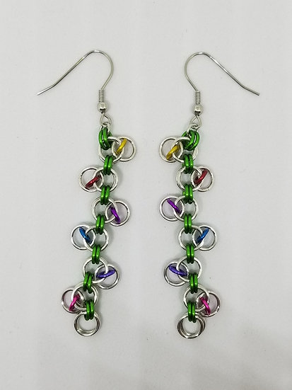 Christmas Lights Earrings