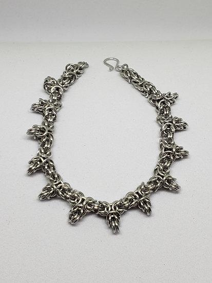Spiky Byzantine Bracelet