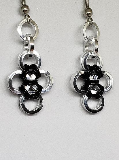 Japanese Cross Earrings
