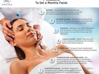7 Reasons to Get a Facial