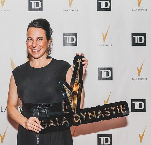 Valérie Plante - Gala Dynastie - Custom sign - D Style Cut creative custom wood acrylic sign home decor and photoboth props