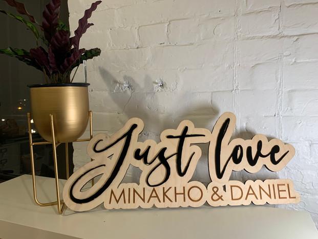 Just Love Minakho & Daniel