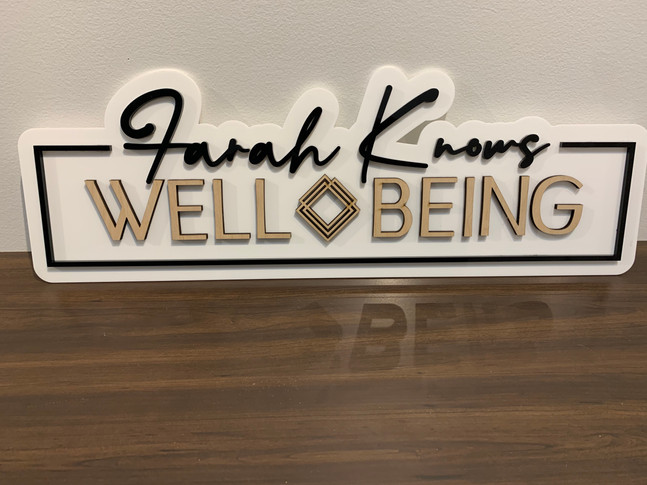 Farah Knows - Well Being