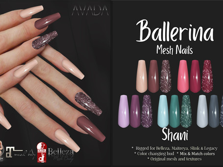 Ballerina Shani Nails