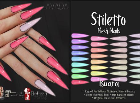 Stiletto Nails Isuara