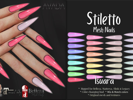 Stiletto Nails Isuara