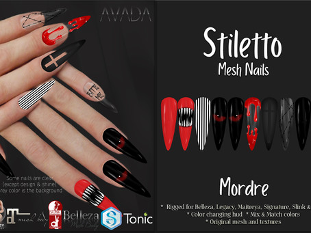 Stiletto Nails Mordre Store Ad