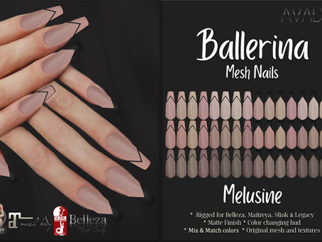 Ballerina Nails Melusine