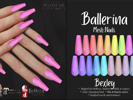 Ballerina Nails Bexley