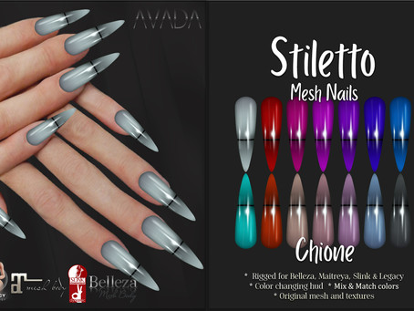 Stiletto Chione Nails
