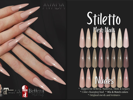 Stiletto Nails Nudes