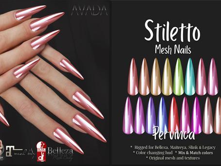 Stiletto Pervinca Nails