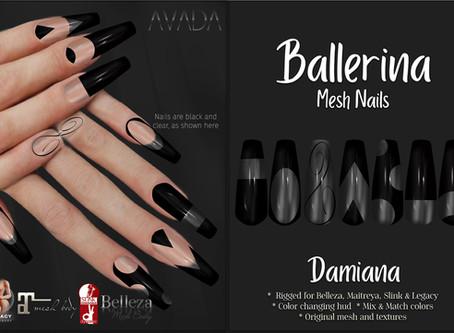 Ballerina Nails Damiana