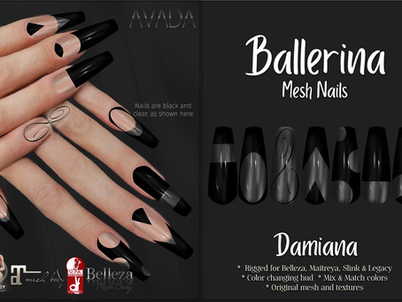 Ballerina Nails Damiana