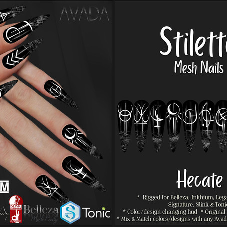 Stiletto Nails Hecate