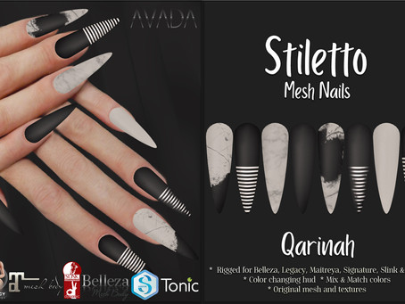 Stiletto Nails Qarinah