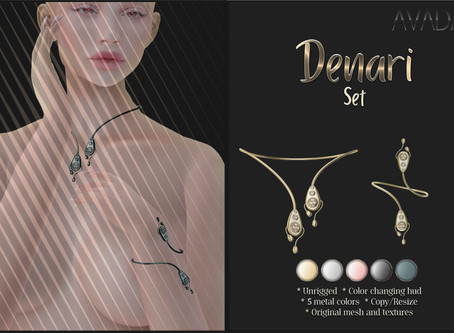 Denari Necklace and Bracelets