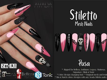 Stiletto Nails Pusa