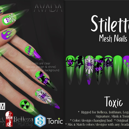 Stiletto Nails Toxic