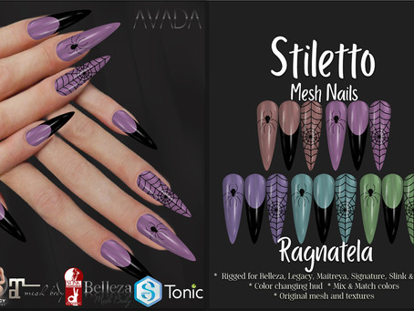 Stiletto Nails Ragnatela