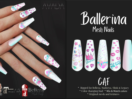 Cute as F*ck Ballerina Nails