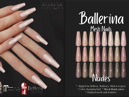 Ballerina Nude Nails