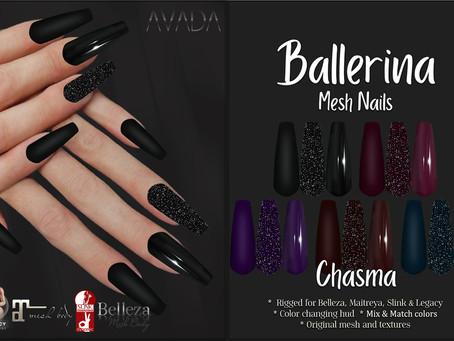 Chasma Ballerina Nails