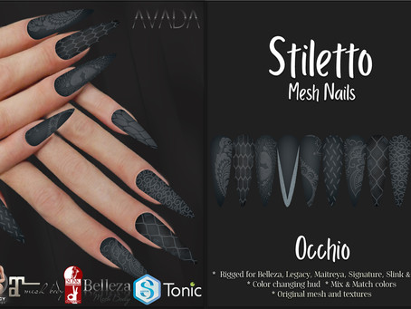 Stiletto Nails Occhio