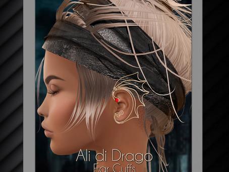 Ali di Drago Ear Cuff