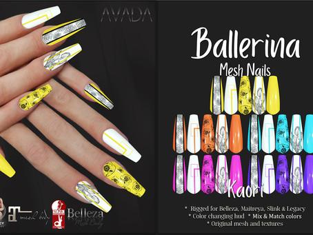Kaori Ballerina Nails