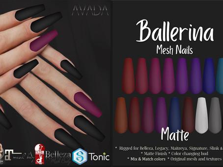 Ballerina Nails Matte