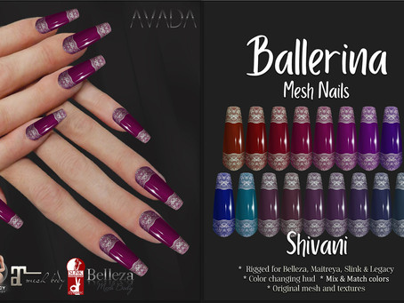Shivani Ballerina Nails