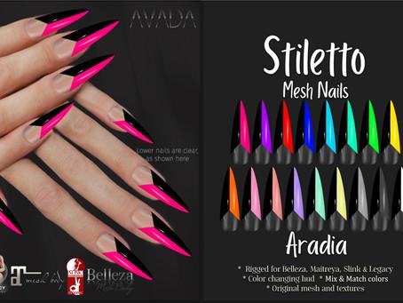 Stiletto Nails Aradia