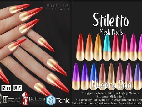 Nudara Stiletto Nails