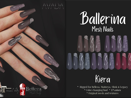 Kiera Ballerina Nails