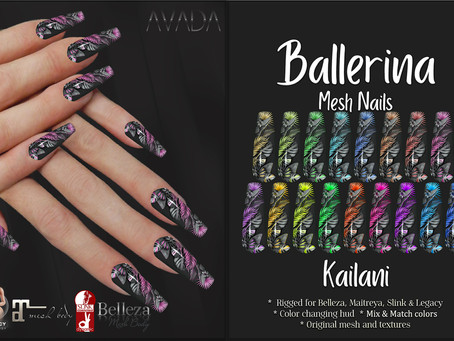 Kailani Ballerina Nails