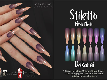 Dakarai Stiletto Nails