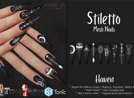 Stiletto Nails Haven